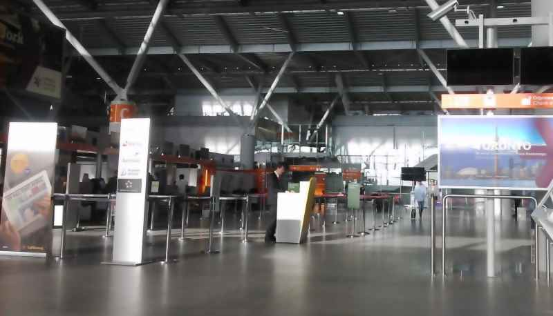 Check-in steb-by-step - Chopin Airport, Warsaw
