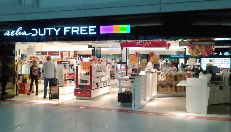 Shops at the Chopin Airport: AELIA DUTY FREE